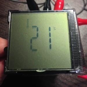 キューブクロック_温度計専用
