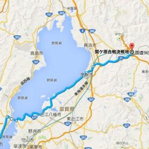 マップ_関ヶ原決戦地