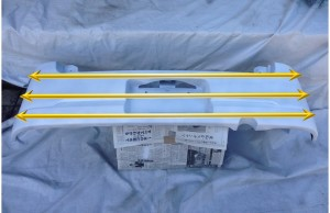 Rバンパー_塗装方向1