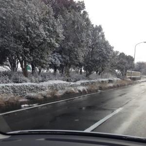 積雪_亀山